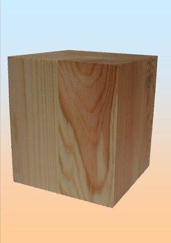 vierkante blokpoot